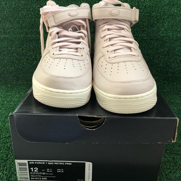 buy online 81fc3 90334 Nike nikelab Air Force mid retro men s size 12